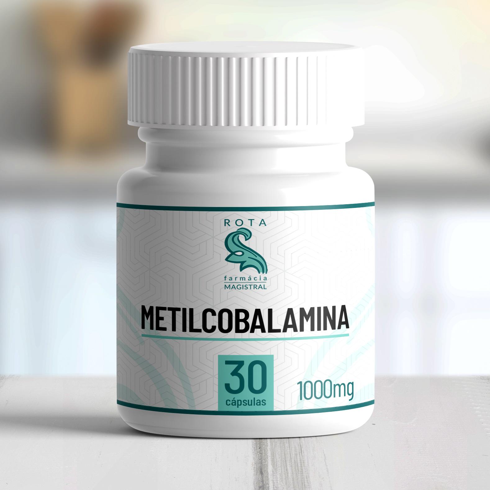 Metilcobalamina 1000mcg 30 cápsulas