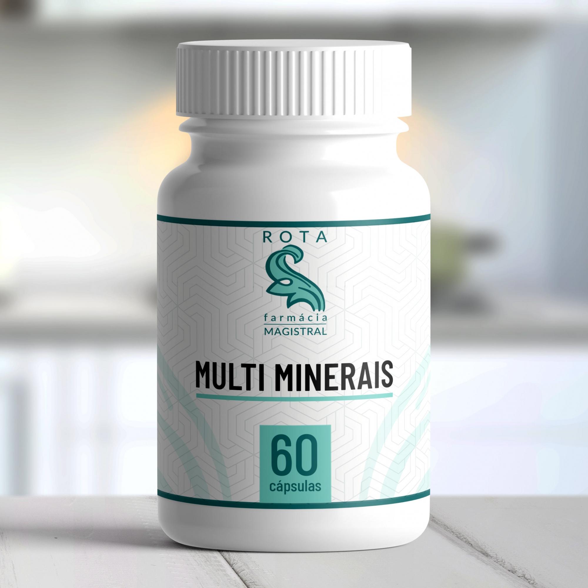 Multi Minerais 60 cápsulas