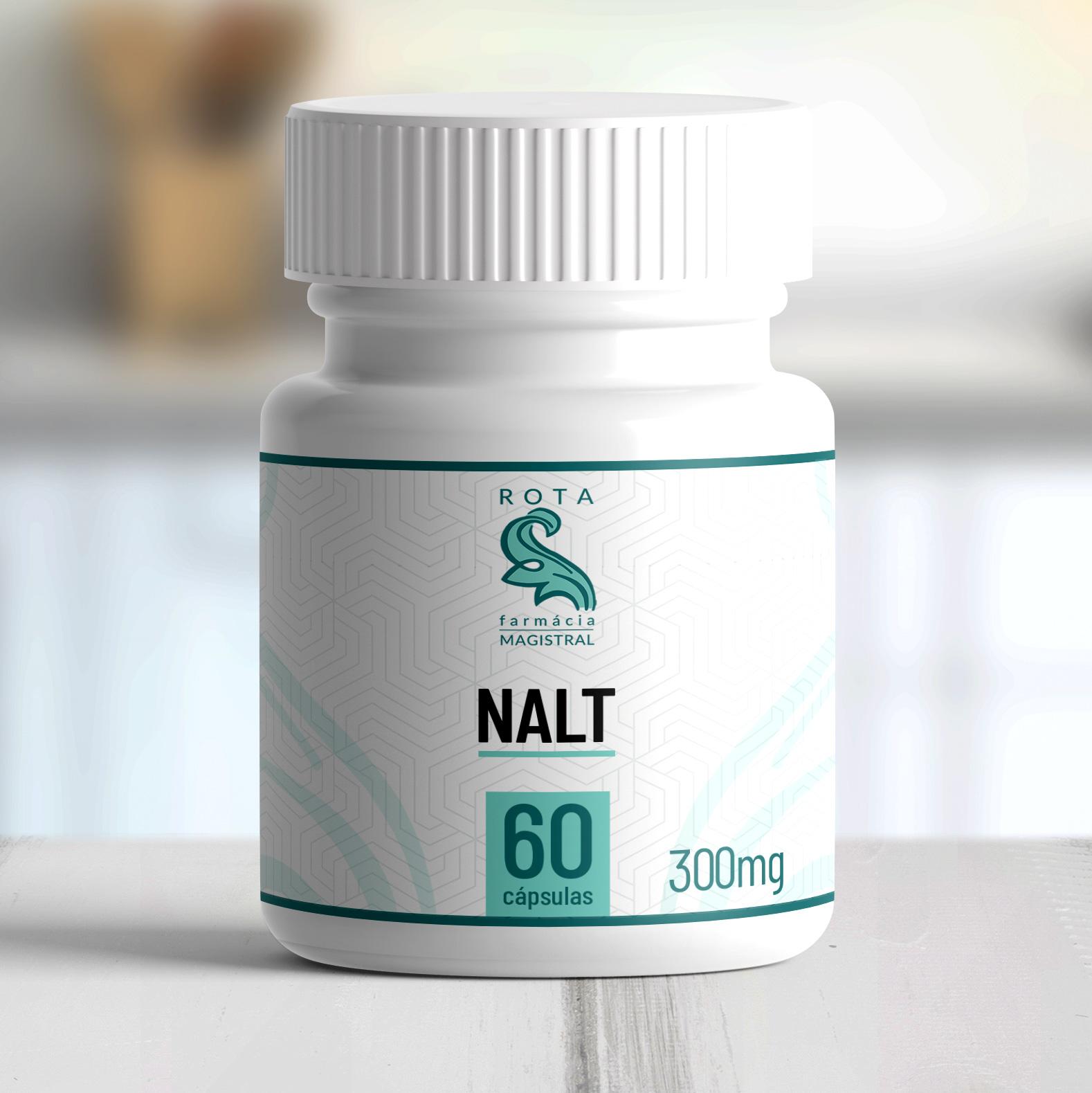 NALT (N-Acetil L-Tirosina) 300mg 60 cápsulas