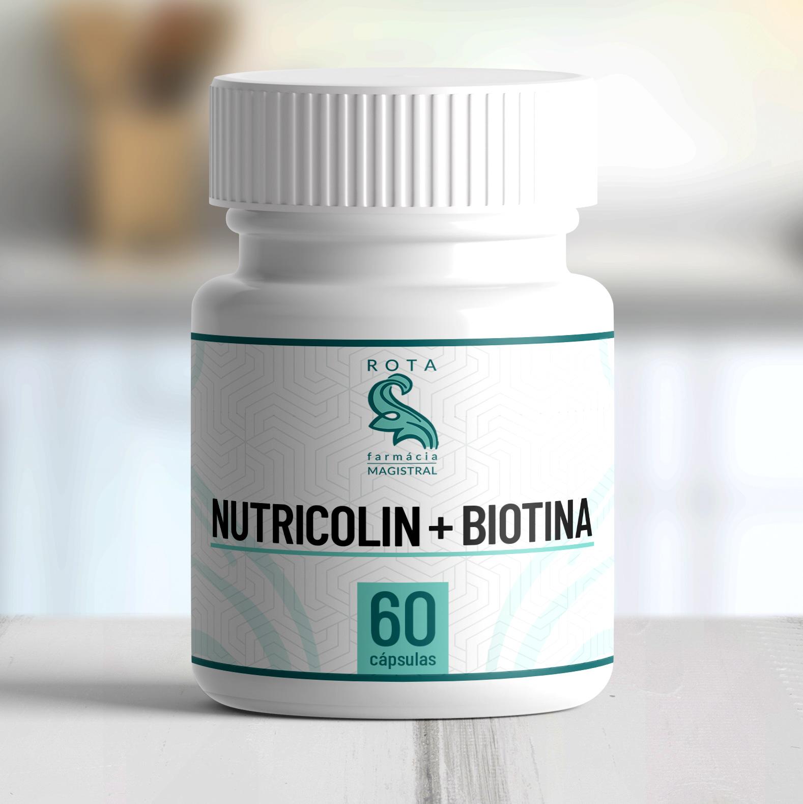 Nutricolin + Biotina 60 cápsulas