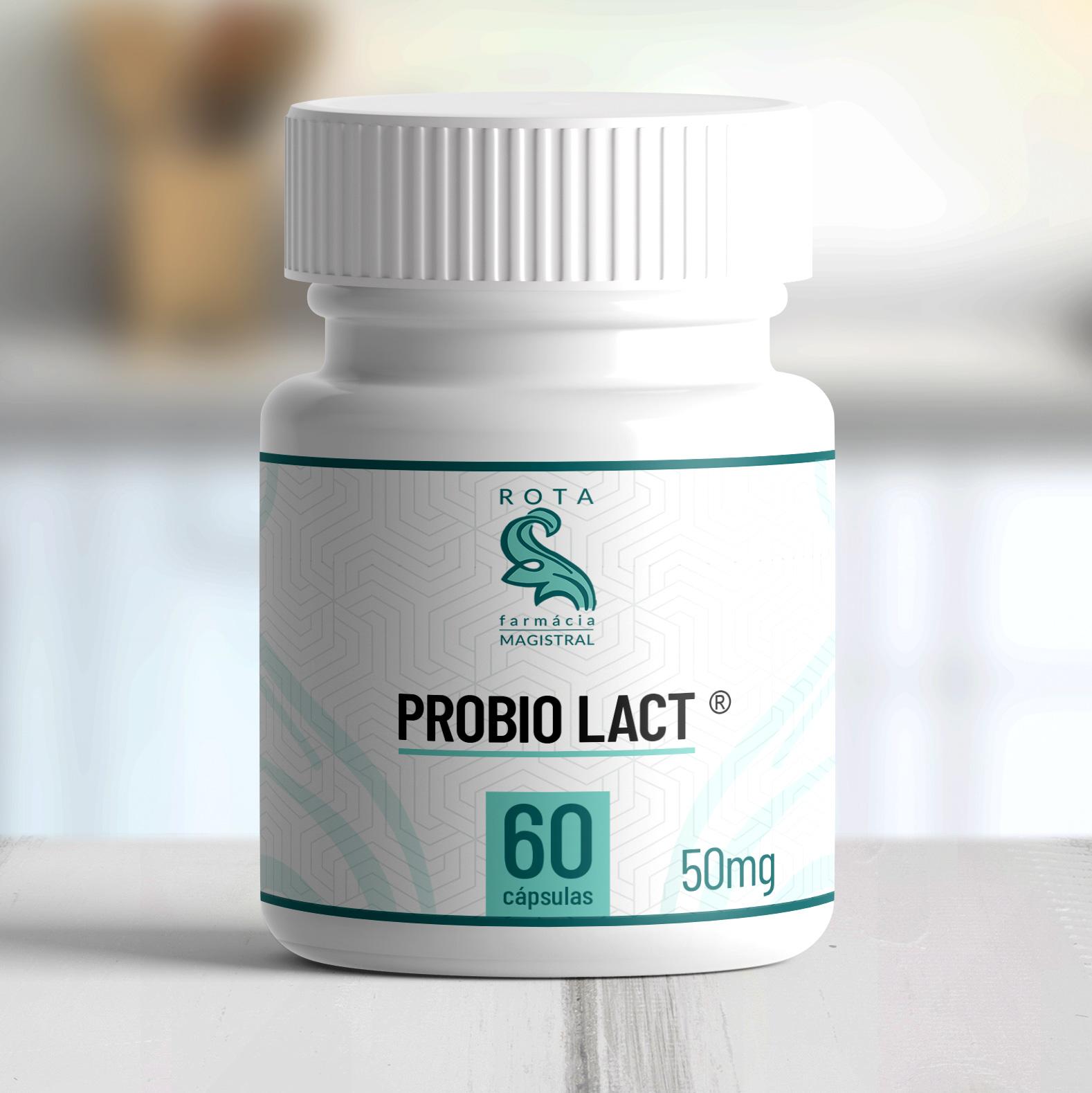 Probio LACT ® 50mg 60 cápsulas