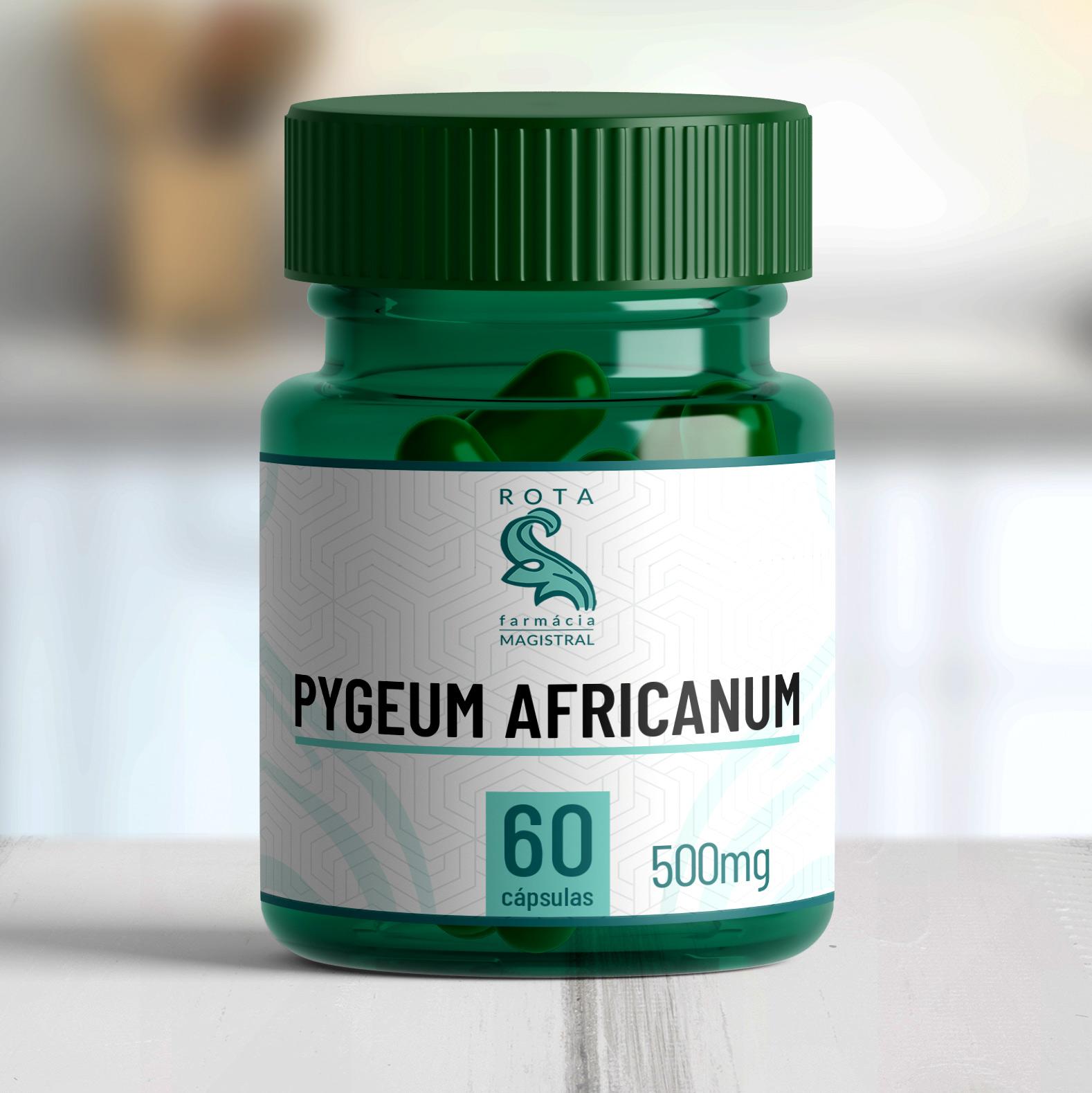 Pygeum africanum 500mg 60 cápsulas