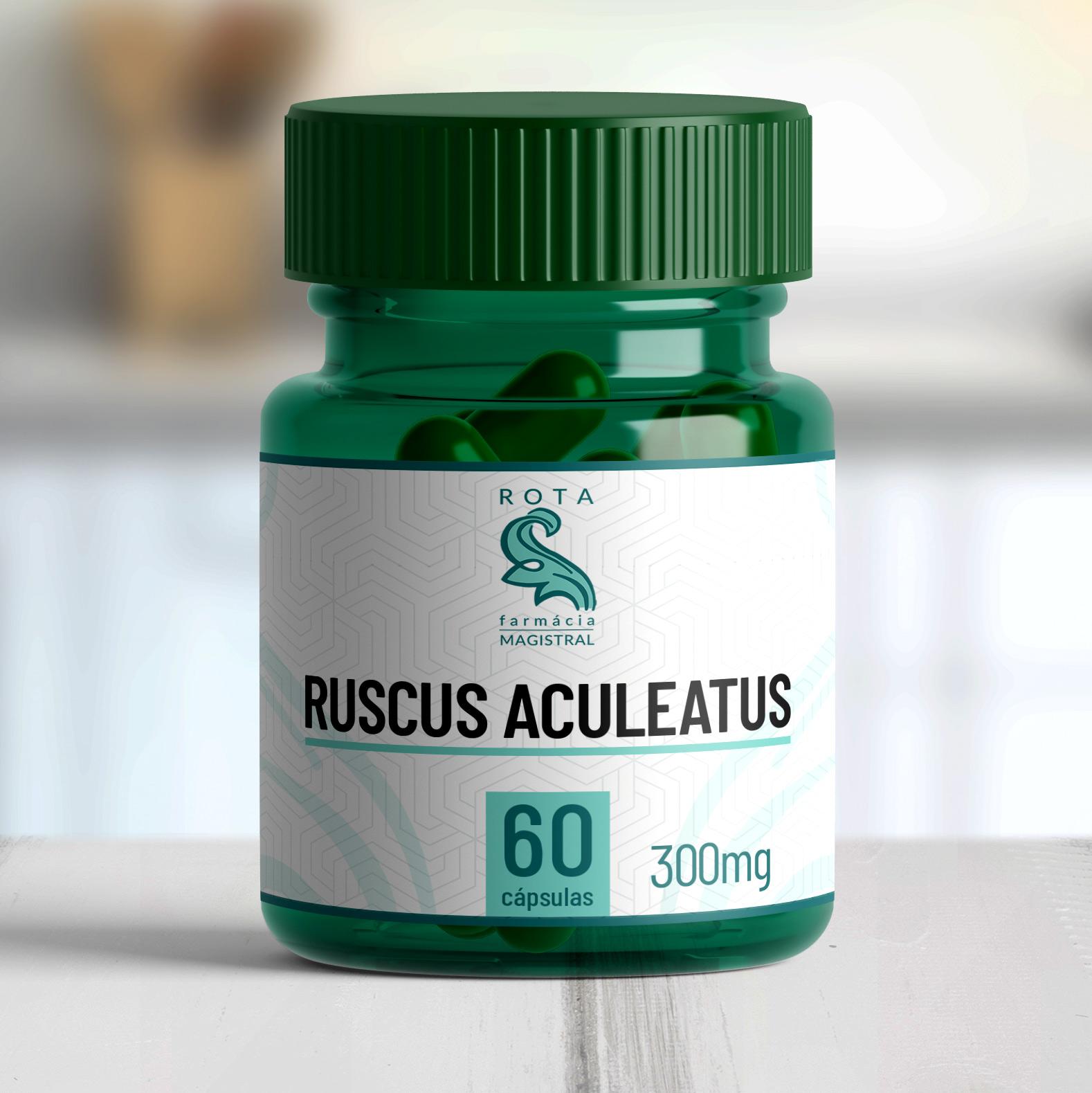 Ruscus aculeatus 300mg 60 cápsulas
