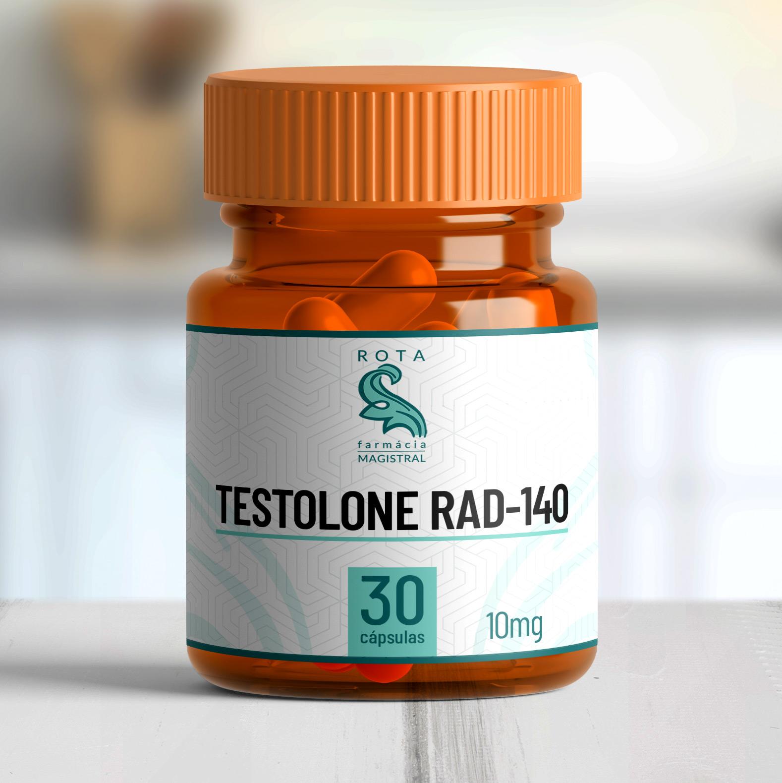 Testolone RAD-140 10mg 30 cápsulas