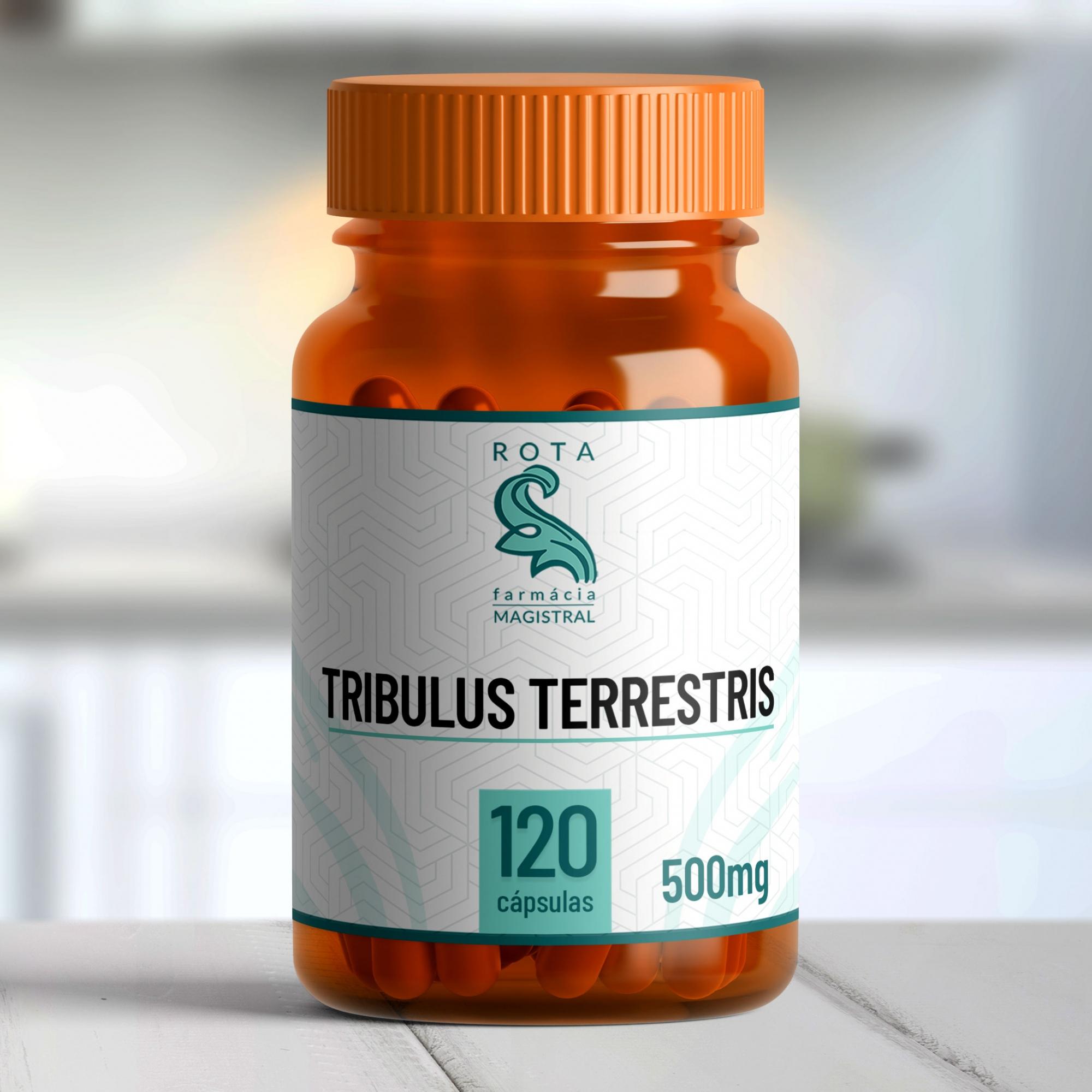Tribulus Terrestris 500mg 120 cápsulas