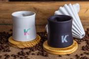 Kit KOAR porcelana + Caneca + Filtro
