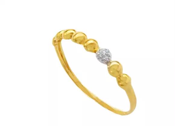 Anel Falange Gominhos Ouro amarelo