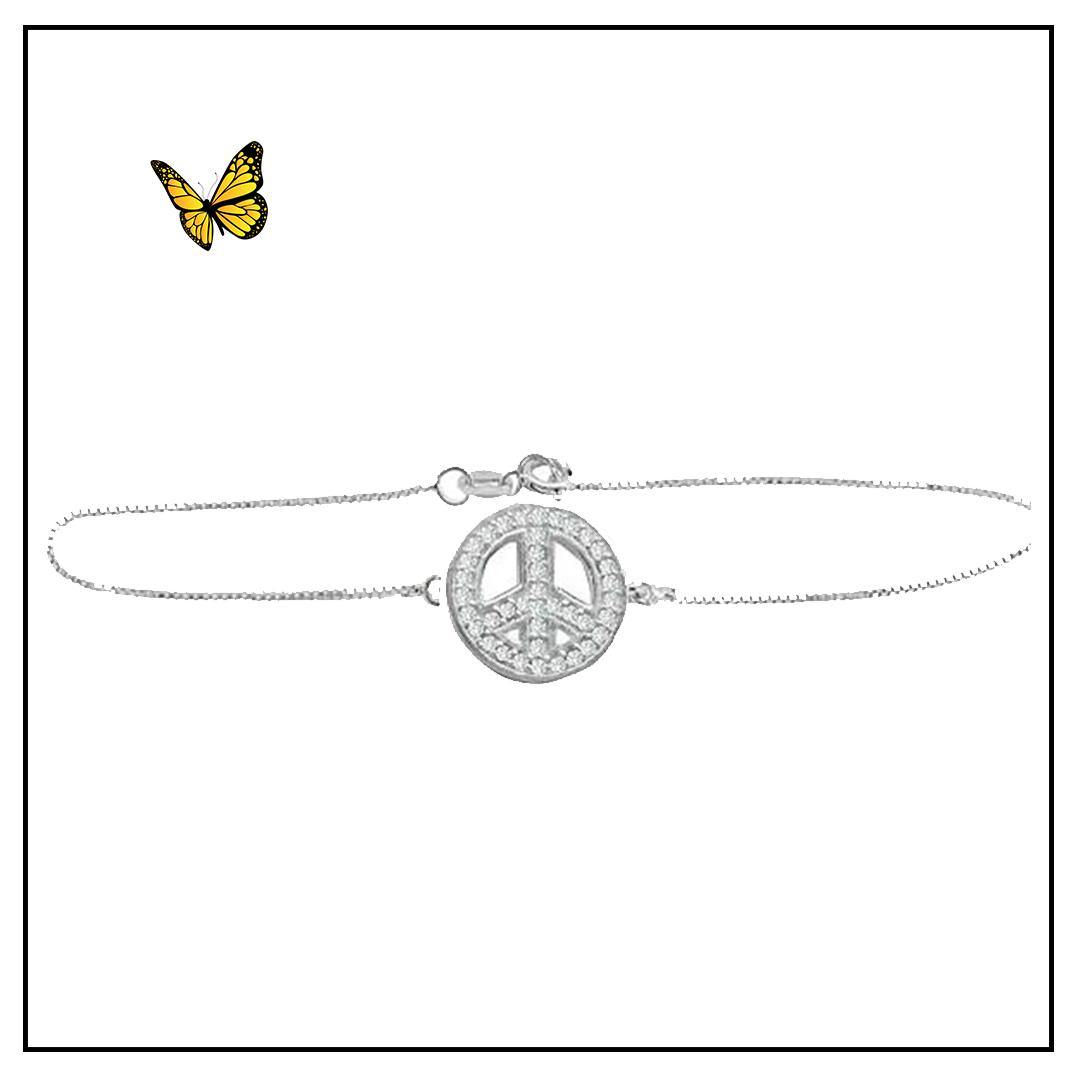 Pulseira Simbolo da Paz