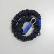 Elástico KA SPORTS Mosquetão Azul Forte 1,5 m