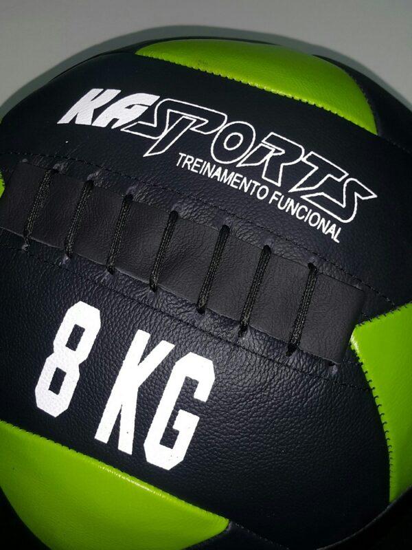 Wall Ball Couro Legítimo KA SPORTS 8 Kg