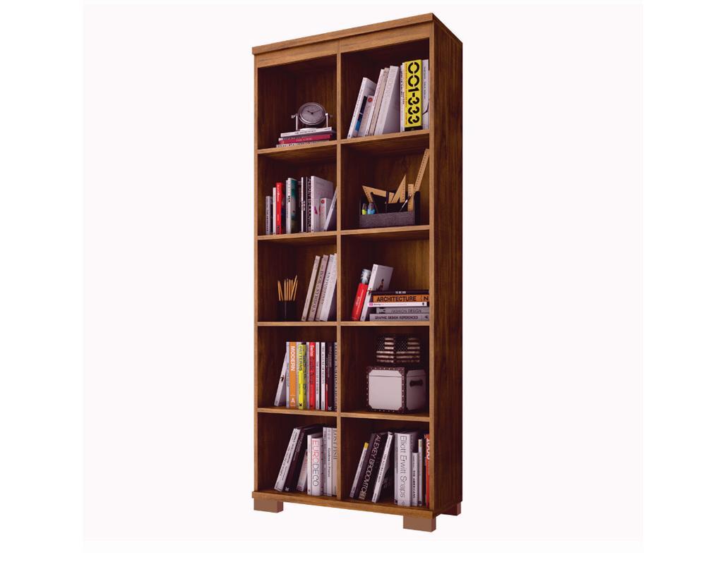 Estante Para Livros 100% Mdf C605 Nobre - Dalla Costa