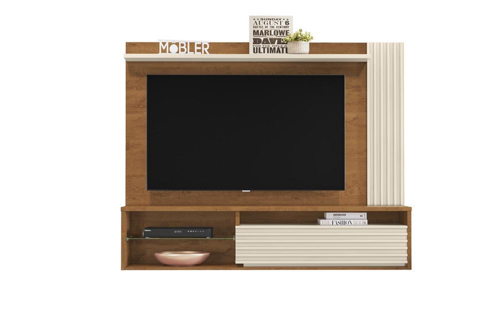 Home Suspenso Capri para TV de até 58 polegadas NATURE / OFF WHITE - Mobler