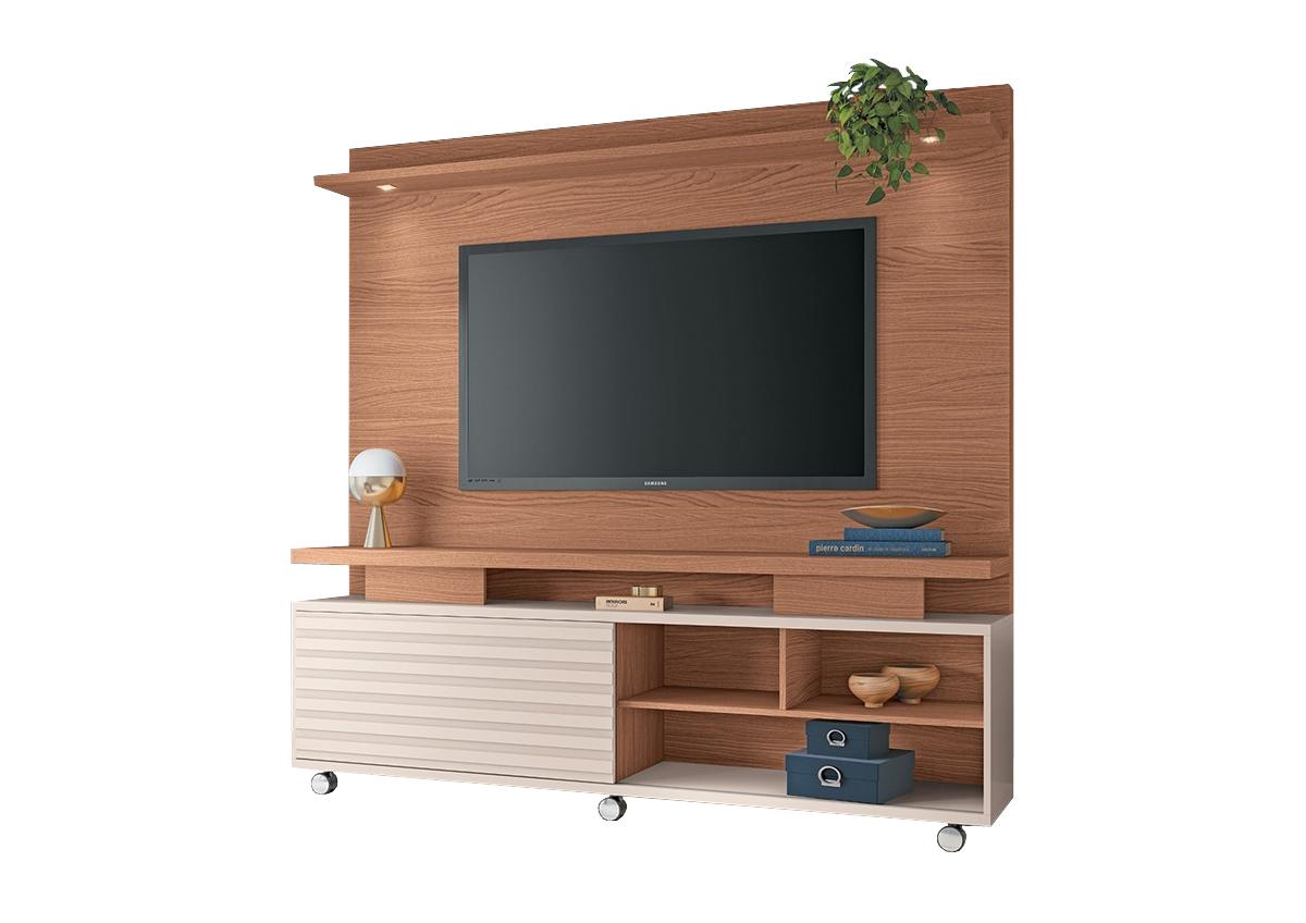 Home Theater Garbo  Nature / Off White  - HB Móveis