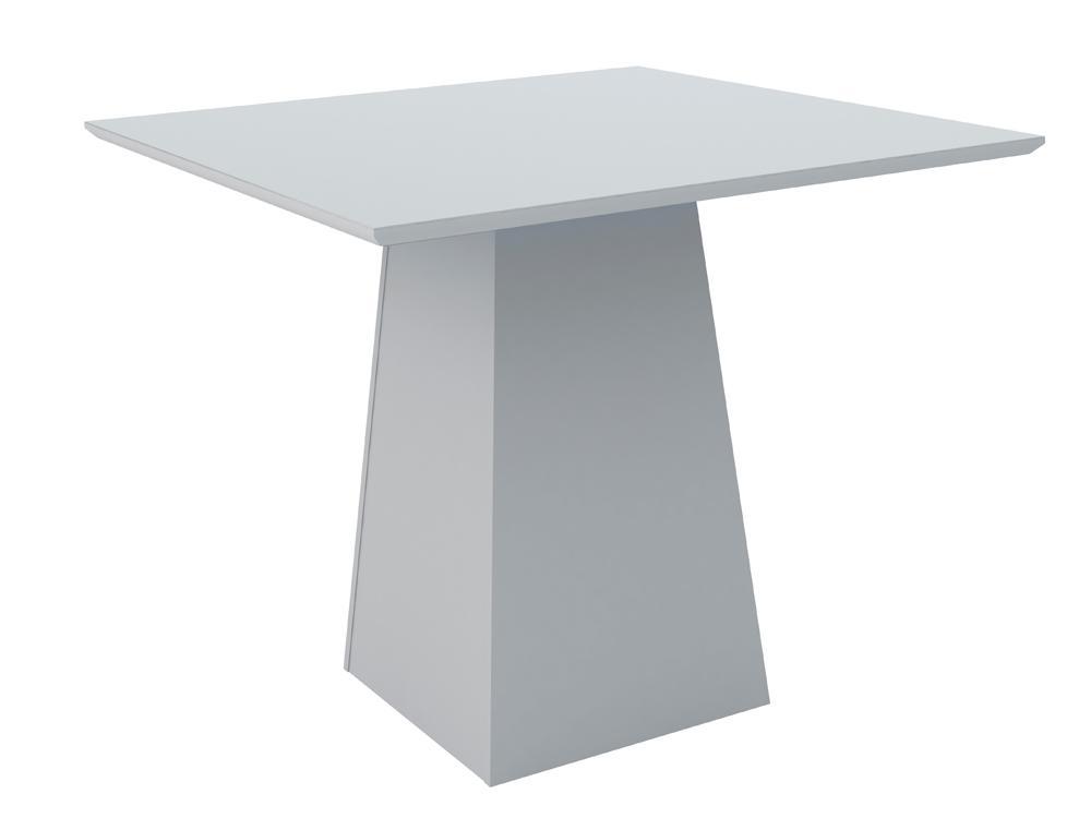 Mesa de Jantar Jasmin 100X100cm Off White - New Ceval