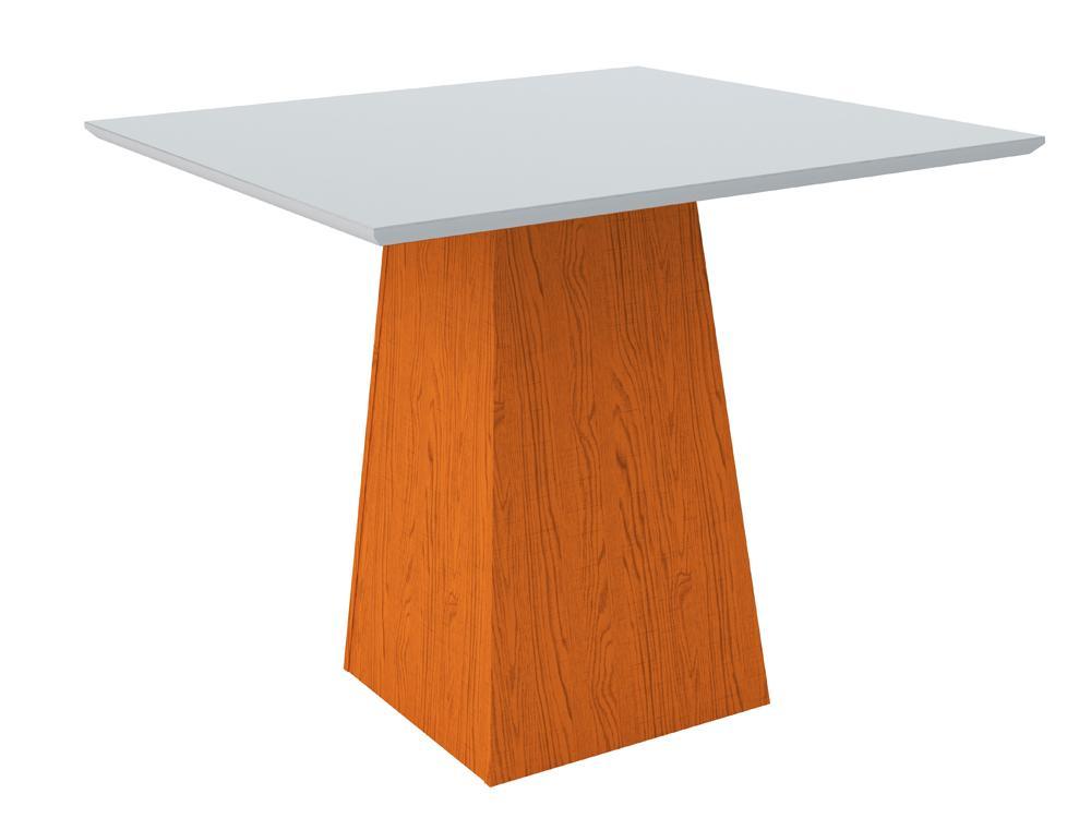 Mesa de Jantar Jasmin 100X100cm Ype/Off White - New Ceval