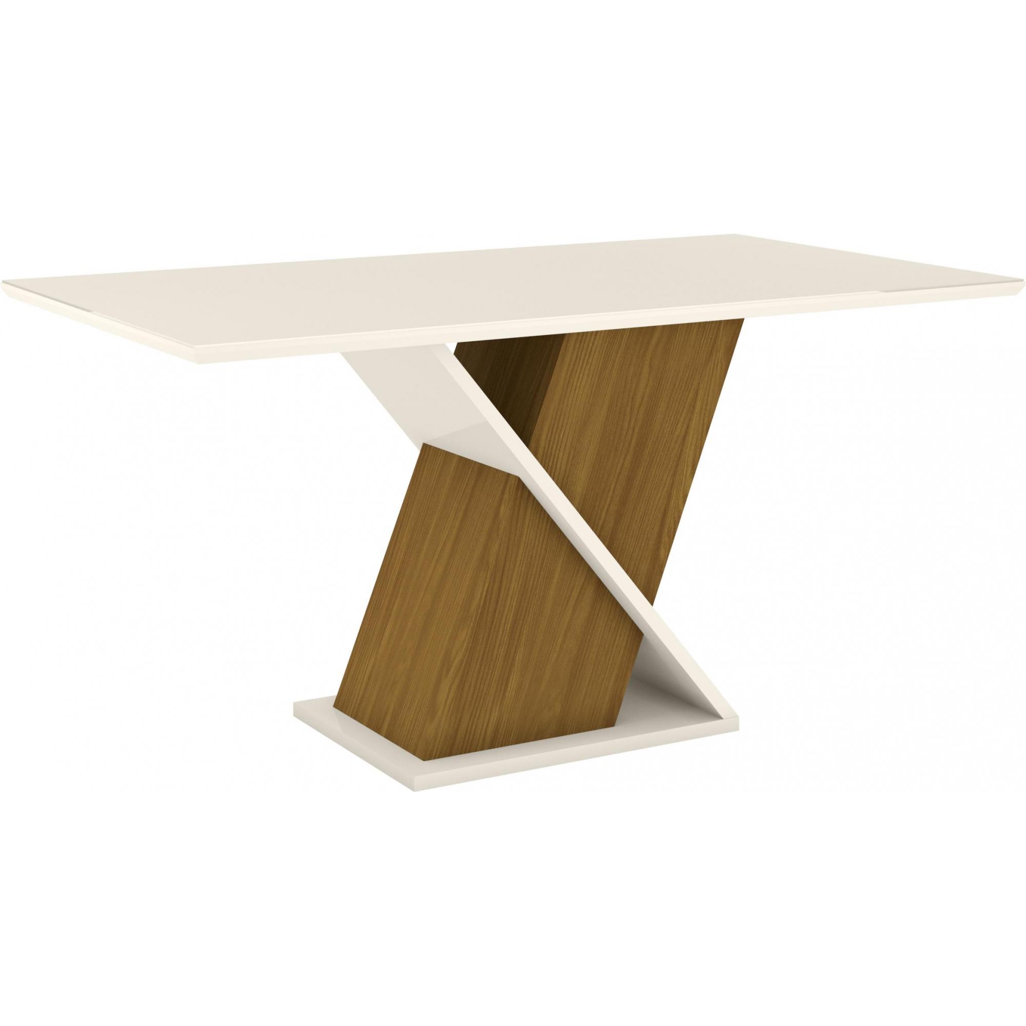 Mesa de Jantar Solus Nature/Off White - Henn