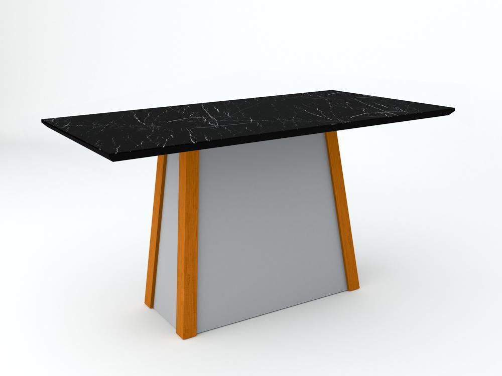 Mesa Julia 1,60X0,90m Ype/Nero - New Ceval