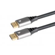 Cabo Displayport 1.4 Resolução 8K 1,80 Metros HDR