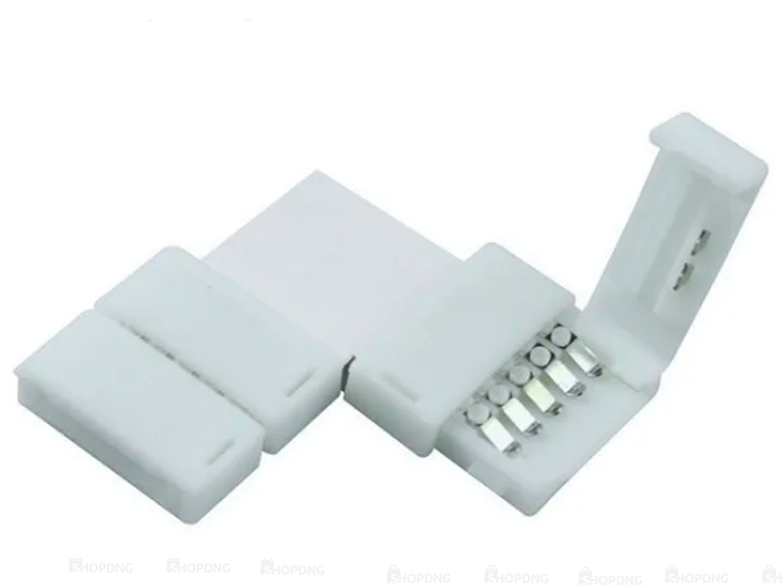 3 Unidades Conector Emenda Fita de Led 5050 3528 Tipo L