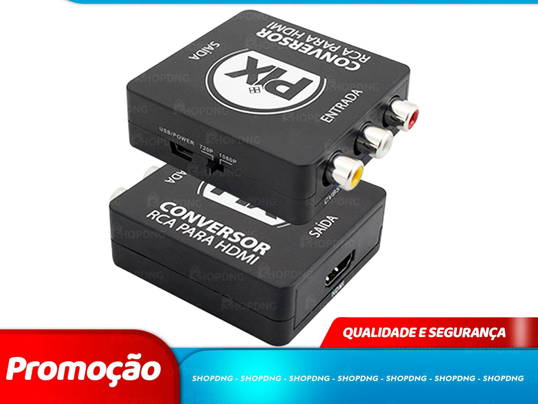 Adaptador Conversor RCA Para HDMI (075-7189)