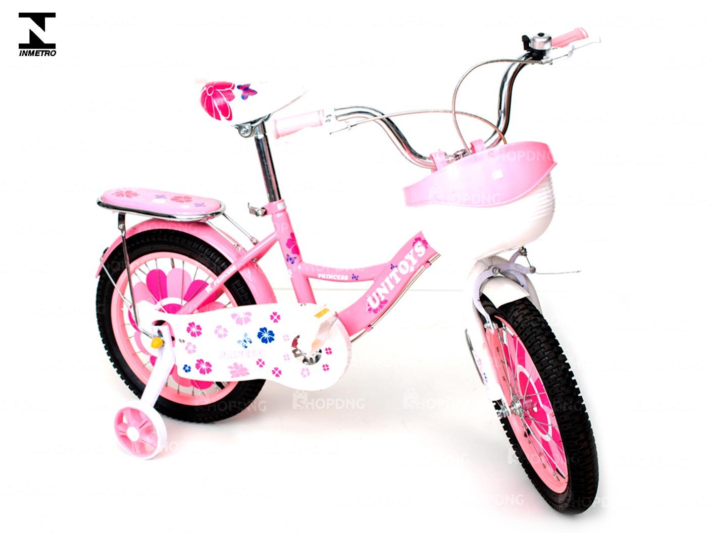 Bicicleta Princesa Rosa Aro14 Infantil Montana Inmetro (1507)