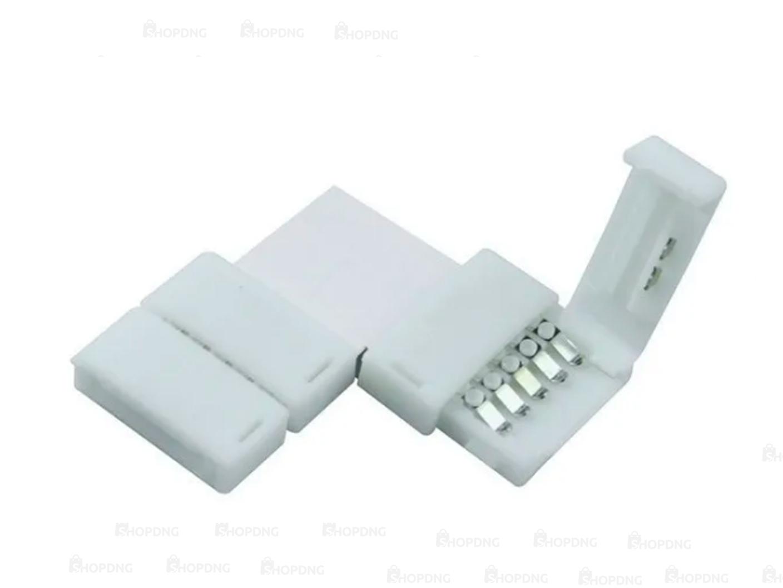 Conector Emenda Fita de Led 5050 3528 Tipo L