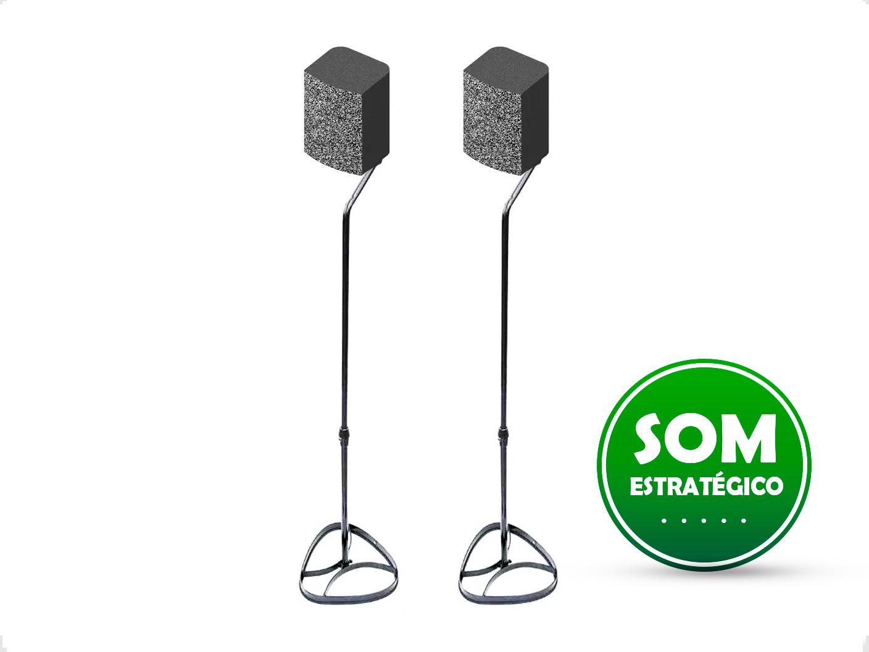 Pedestal Caixa de Som Home Theater QS90 Quality