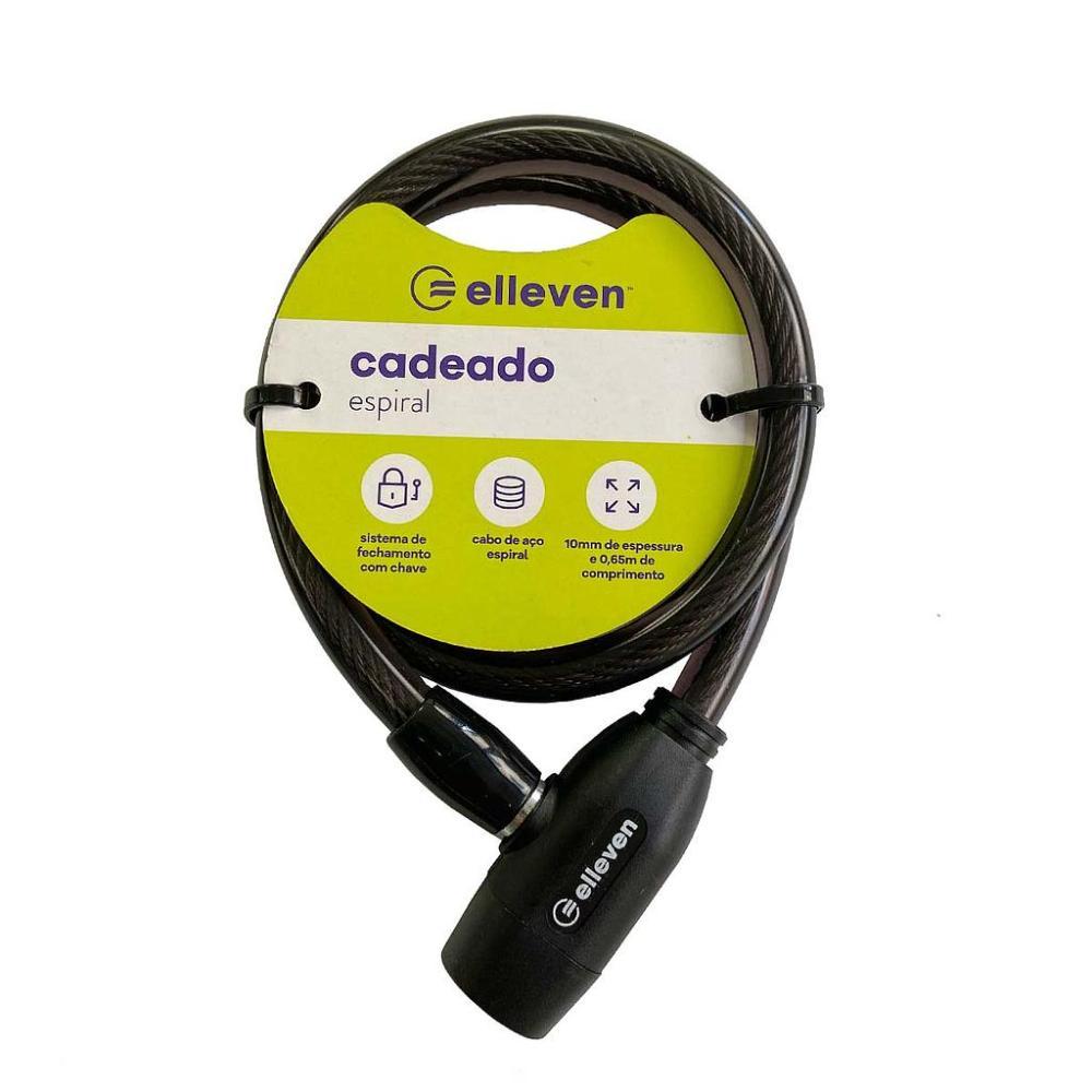 CADEADO 10mm x 65cm COM CHAVE - ELLEVEN