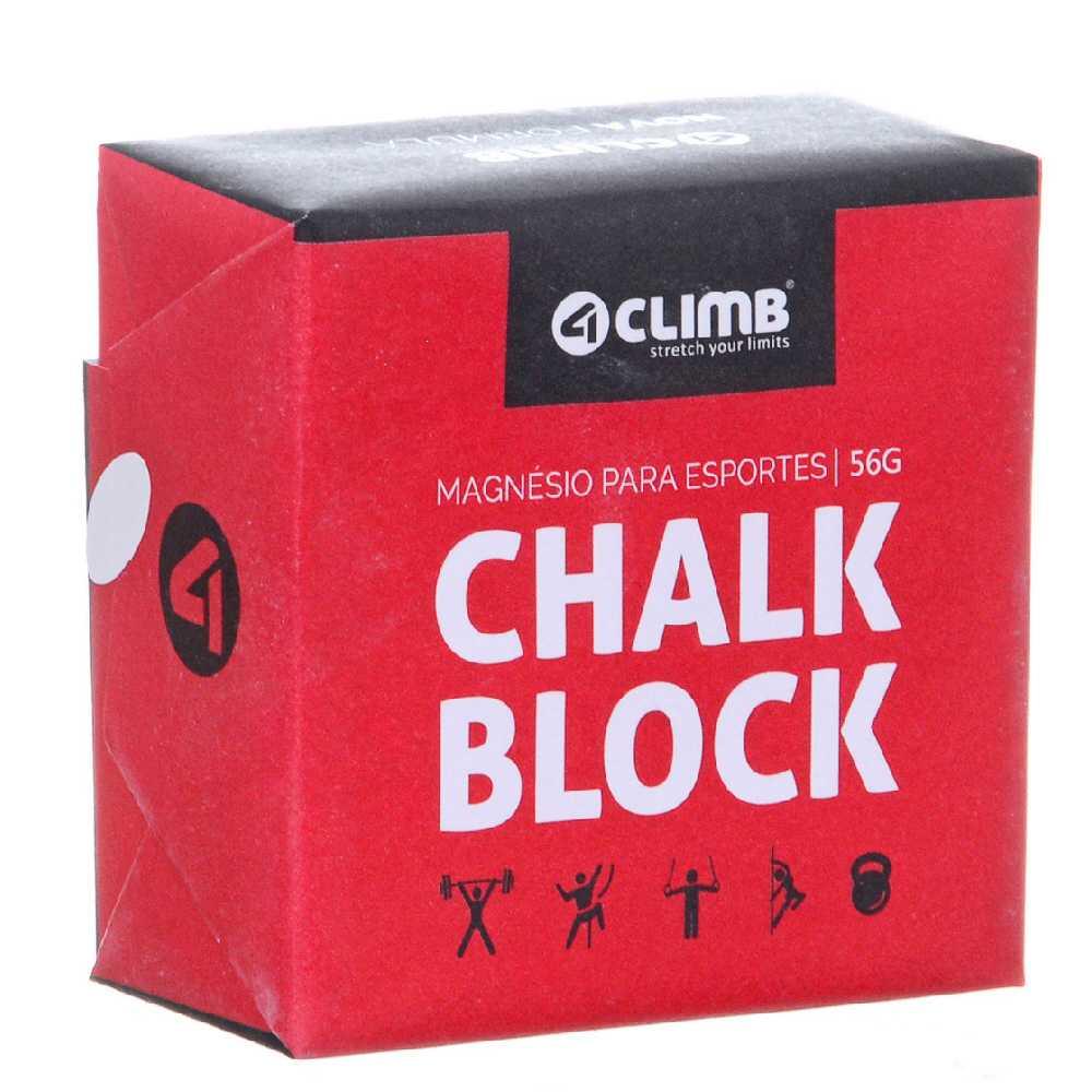 CARBONATO DE MAGNÉSIO CHALK BLOCK 56g - 4CLIMB