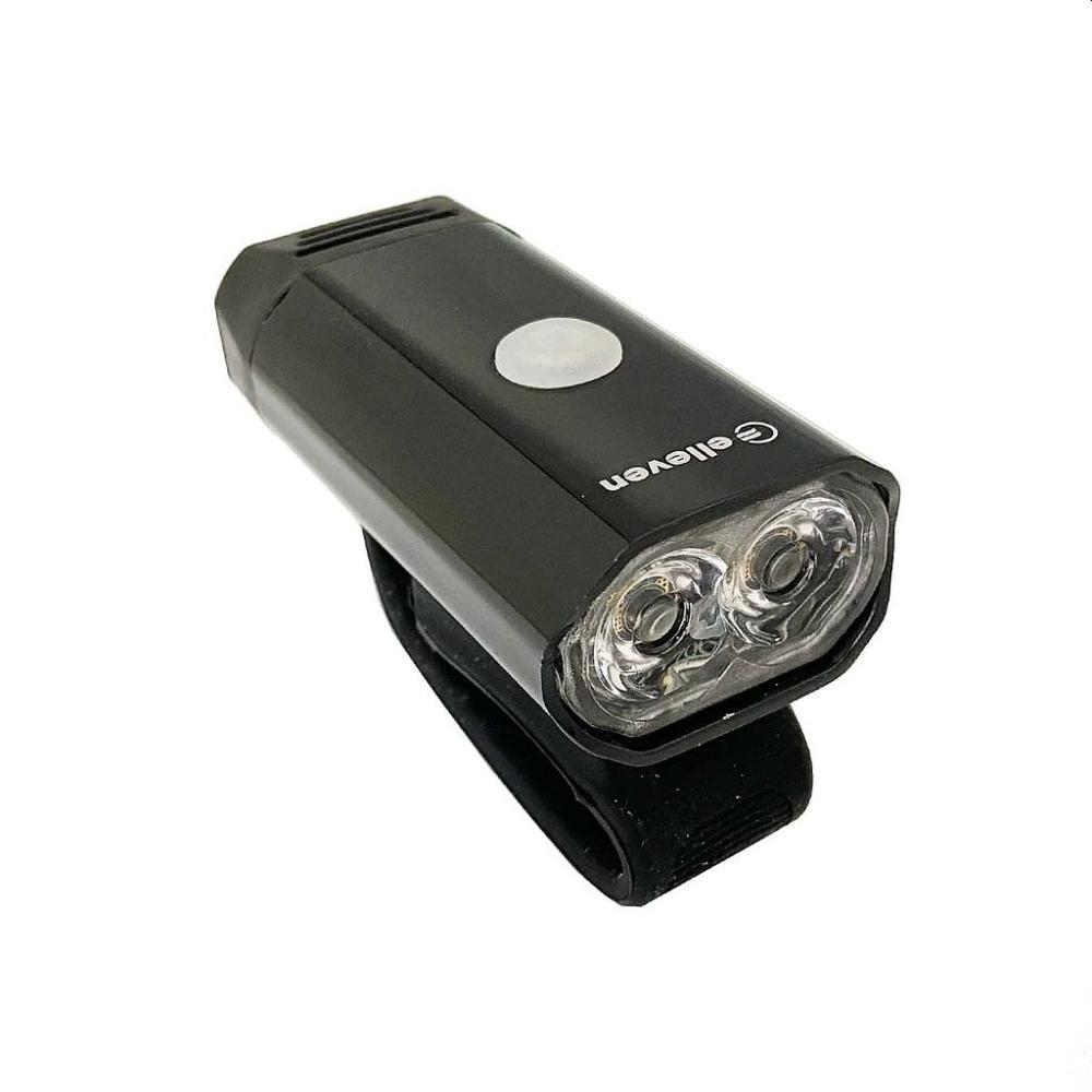 FAROL BATERIA 2 LEDS 5W RECARREGÁVEL USB - ELLEVEN