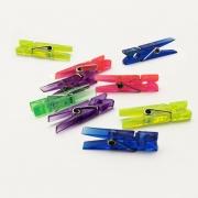 12 Mini Prendedor coloridos