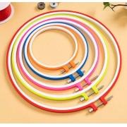 5 Bastidores Coloridos - Plastico