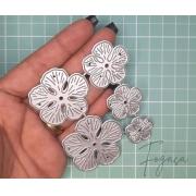 5 Facas de Corte Flor