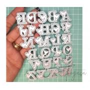 Alfabeto 2cm - Faca de Corte scrap