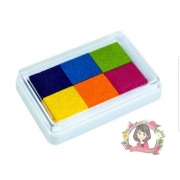 Almofada 6 cores p Carimbo