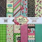 Bloco de papel coleçao Hello Pretty - 24 folhas