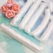 Cabelo Kanekalon Branco - cabelinho de anjo - Boneca