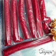 Cabelo Kanekalon Vermelho- cabelinho de anjo - Boneca