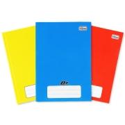 Caderno Brochura Capa Dura Pequeno - 96 Folhas - ESCOLHA SUA COR