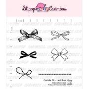 Carimbo - Lacinhos - Scrapbook