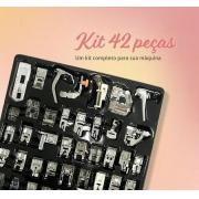 kit 42 pçs Calcadores para Maquina - Singer e outras