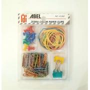 Kit Scrap - Clips Zebra color - elásticos e pinos
