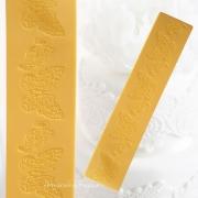 Molde Tapete de Silicone Renda 37,5cm - Ref 4937