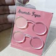 Óculos em acrilico - Redondo - 5cm
