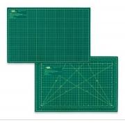 Base de corte Verde dupla face 30x45 cm