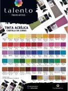 Tinta Acrílica para Telas 20ml - Talento