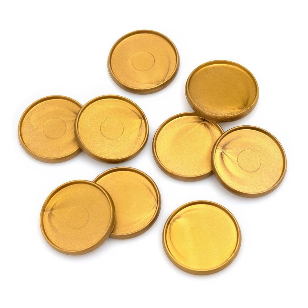9 Discos Para Encadernação - Disc Power Punch We R - Dourado
