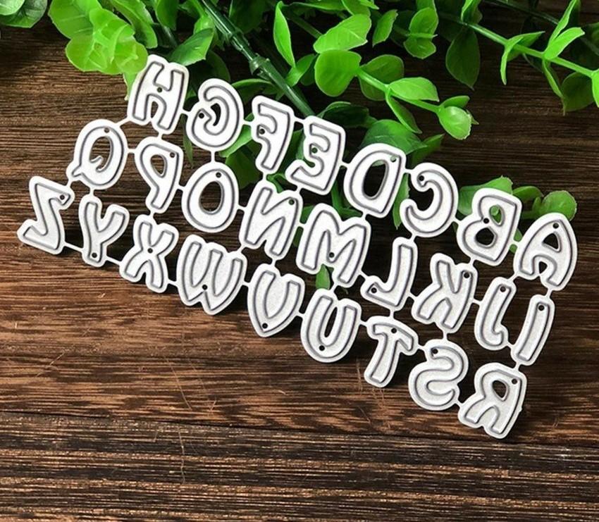 Alfabeto 1,3cm - Faca de Corte scrap