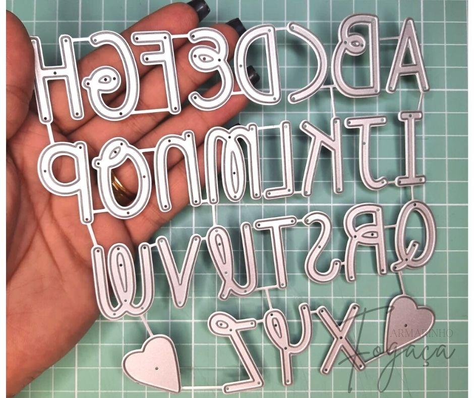Alfabeto 3cm - Faca de Corte scrap