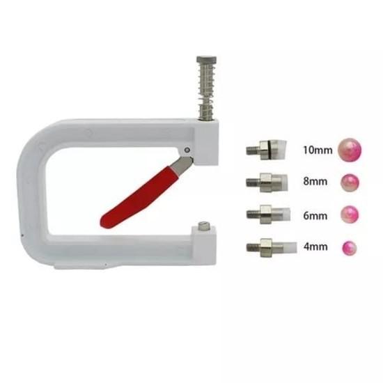 Aplicador de Perola com rebite 4 matrizes
